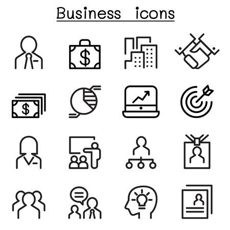 administracion de empresas: Conjunto de iconos de Administración de Empresas