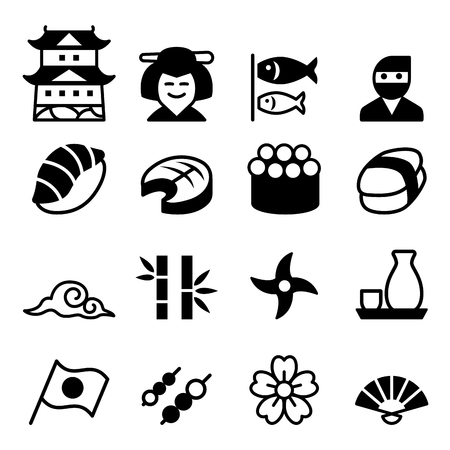 Basic Japanese icon set