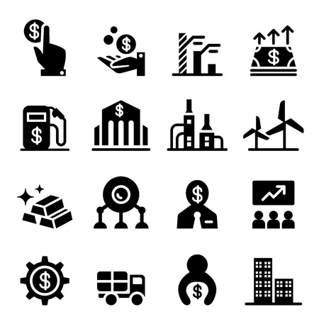 stock: Stock exchange & Stock Market icons Illustration