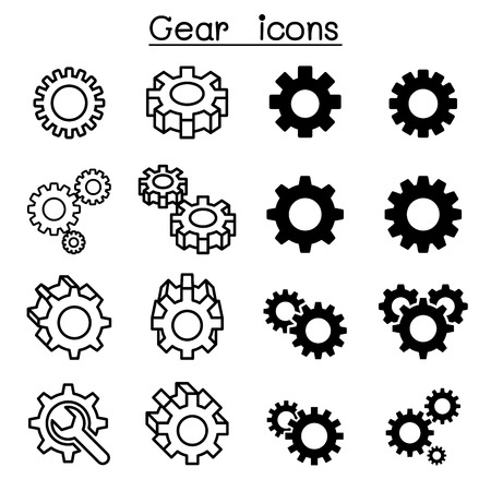 gearshift: Gear icons