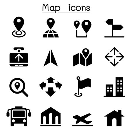 residential zone: Map icons