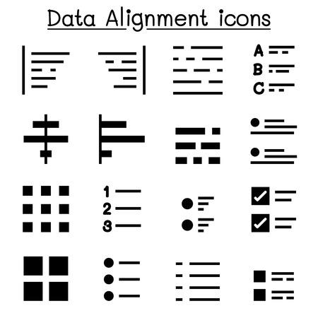indent: Data alignment Illustration