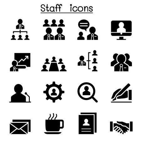 Staff icons