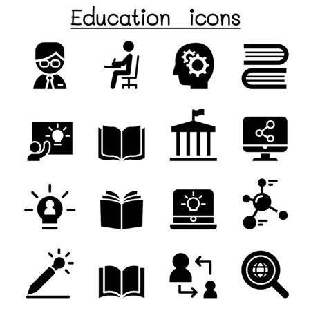 hypothesis: Learning & Education icons Illustration
