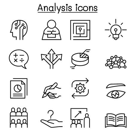 Analysis icon.
