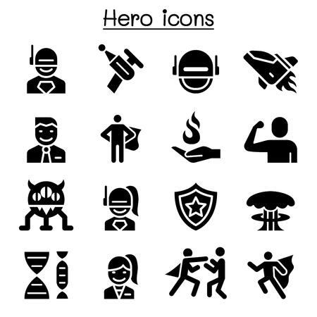 Hero icon set