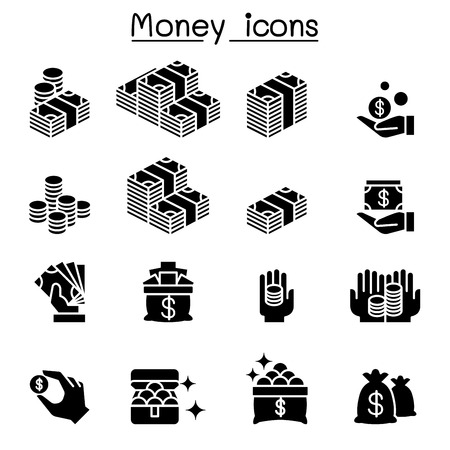 Money & Investment icon set