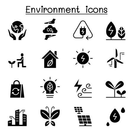 Environment & Ecology icon set