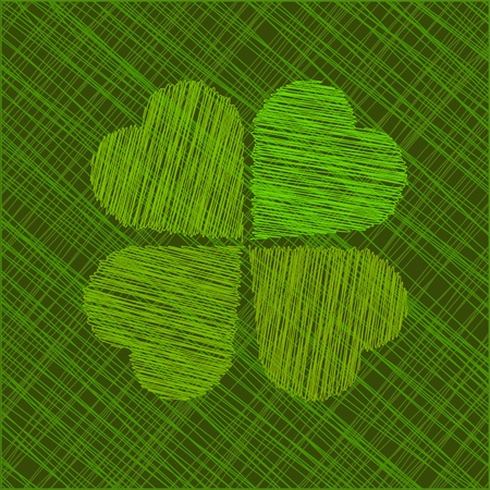 Abstract St  Patrick Vector