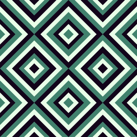 Geometrical pattern in retro colors, seamless vector background. For fashion textile, cloth, backgrounds. Stock Vector - 17194720