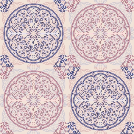Pattern tile in light colors, seamless  background Vector