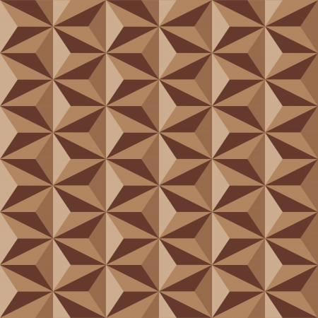 anise: Anise stars pattern in brown colors. Seamless vector background.