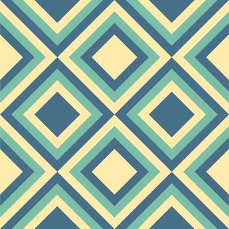 geometric patterns: Geometrical pattern in viridian&golden colors, seamless vector background. For fashion textile, cloth, backgrounds.