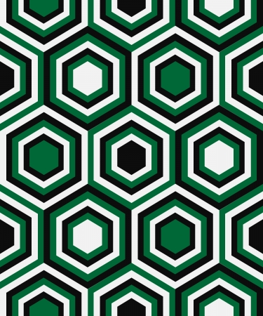 Fashion geometrical pattern in retro colors, seamless vector background. For fashion textile, cloth, backgrounds. Stock Vector - 18118760