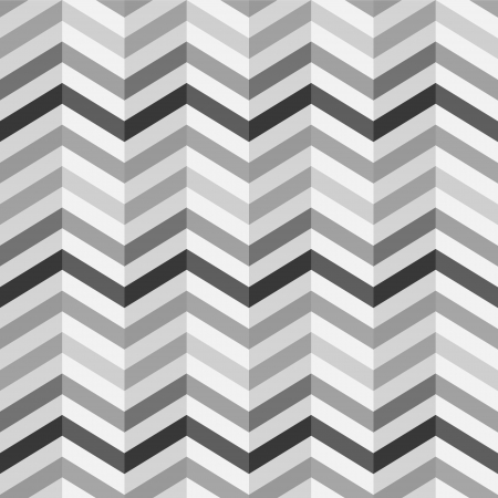 simple: Fashion zigzag pattern in retro colors, seamless vector background Illustration