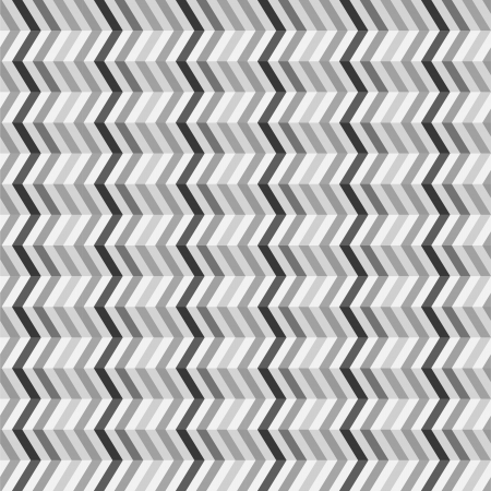 Fashion zigzag pattern in retro colors, seamless vector background Illustration