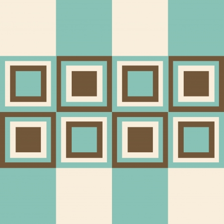 Fashion geometrical pattern in retro colors, seamless background. For fashion textile, cloth, backgrounds.