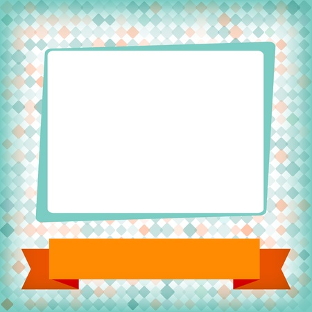 Template for card or invitation  Editable background Vector