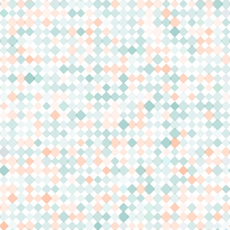 mosaic pattern: Pattern with mixed small spots  Seamless  background Illustration