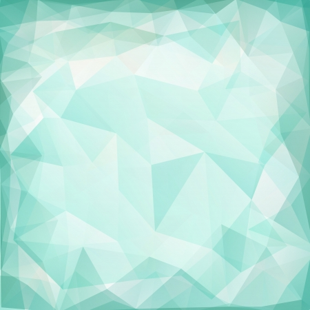 Abstract geometric background with triangular polygons  Illustration