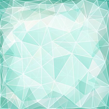 Abstract geometric background with triangular polygons  Vector