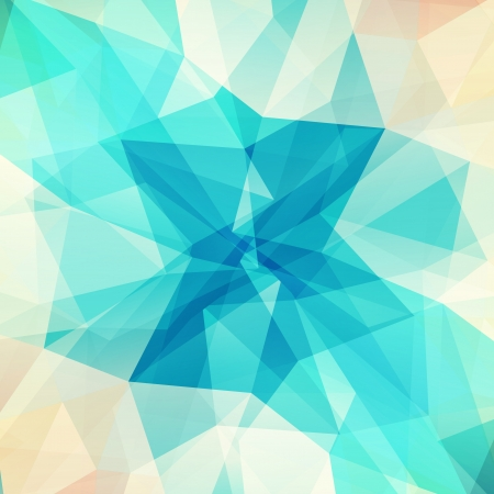 Abstract geometric background with triangular polygons  Ilustração
