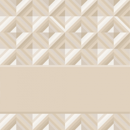 Geometrical pattern in dark gray golden colors, seamless background  Vector