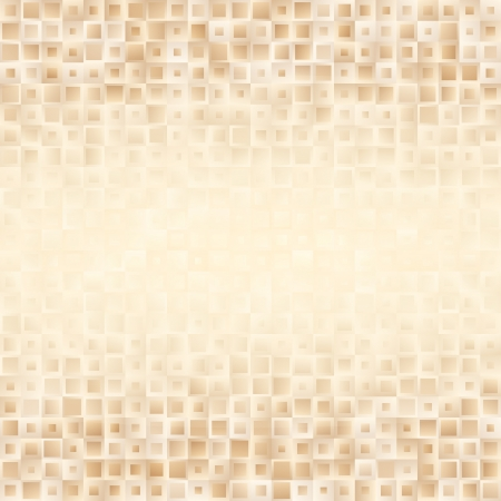 golden color: Abstract geometric background with small mixed shapes in golden color.