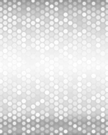 Luxury metallic silver background with small spots of light  Vector