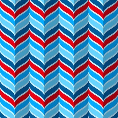추상적 인 기하학적 인 패턴, 빨간색과 파란색 색상에서 원활한 배경