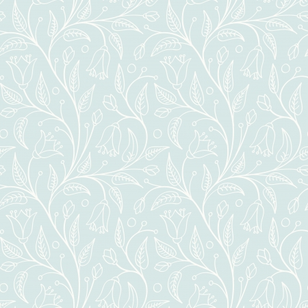 Seamless floral pattern in light retro colors  For wallpaper, pattern fills, web page background, surface design and other backgrounds  Perfect for wedding design