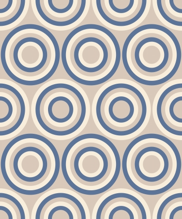 Fashion abstract geometrical pattern with circles. Seamless vector background. Vector