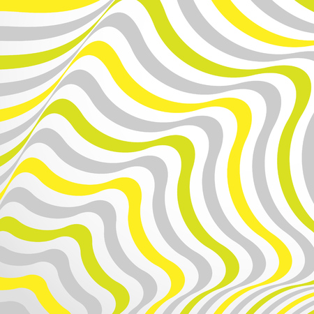 opt: Abstract background in Opt Art style. Vector illustration.