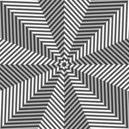 opt: Abstrakcyjne tło w stylu Art Opt. Ilustracji wektorowych.