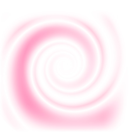 Double colored twirl - white and pink. Abstract vector background.  イラスト・ベクター素材