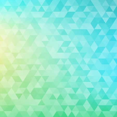 Colorful abstract geometric background with triangular polygons  low poly   Vector illustration 免版税图像 - 25839186