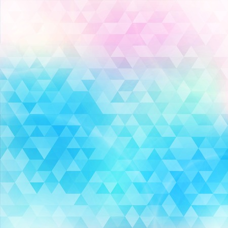 Colorful abstract geometric background with triangular polygons  low poly   Vector illustration 免版税图像 - 25839187