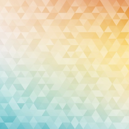 Colorful abstract geometric background with triangular polygons  low poly   Vector illustration  Vector