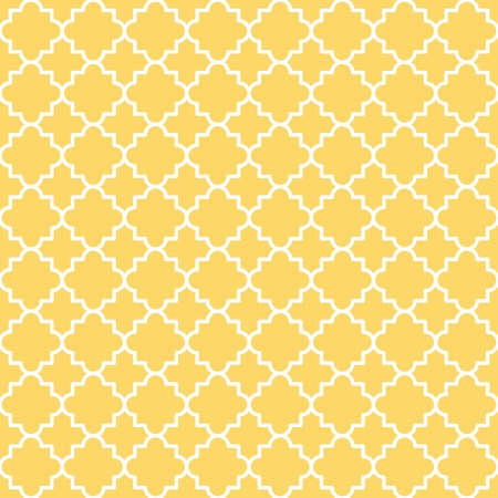 Traditional quatrefoil lattice pattern  Seamless vector background  Vector