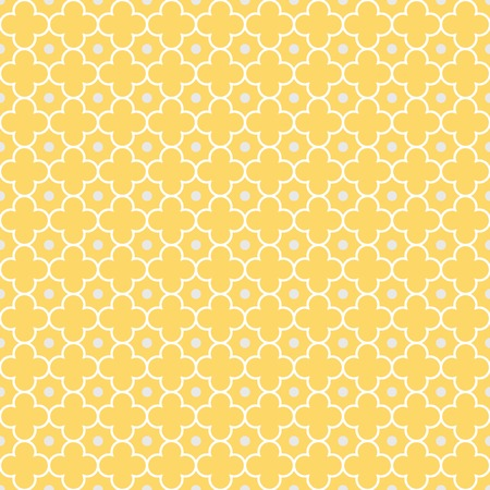 Traditional quatrefoil lattice pattern  Seamless vector background 免版税图像 - 28109227