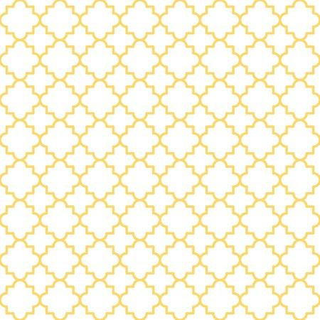 Traditionele quatrefoilpatroon rooster patroon Naadloze vector achtergrond