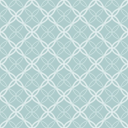 Traditional arabic tangled lattice pattern. Seamless vector background. Vector