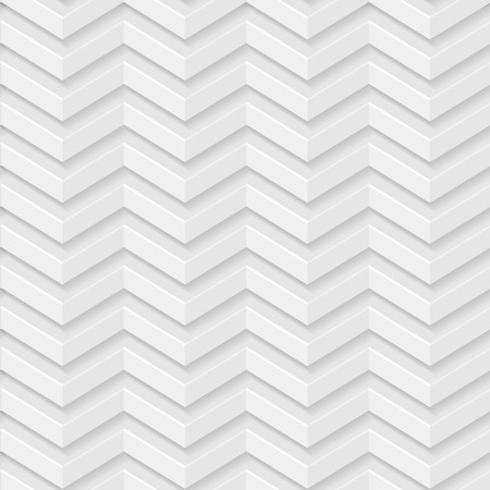 Abstract pattern in light grey and white colors with shadows. Seamless vector background. Vector