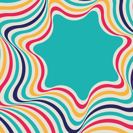 Abstract background - crazy colorful ines  Vector illustration 免版税图像 - 30812596