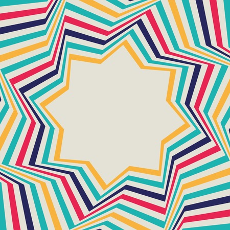 opt: Abstract background - crazy colorful ines  Vector illustration