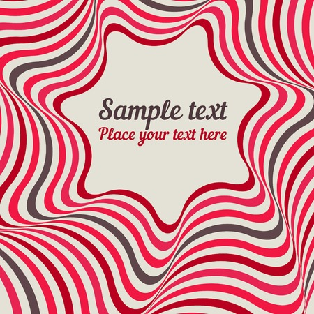 crazy: Abstract background - crazy colorful lines. Illustration