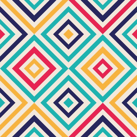 Abstract background - crazy colorful lines. Vector illustration. Vector