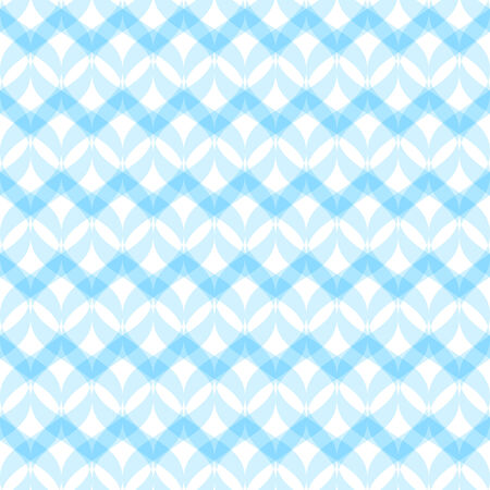 transparent dress: Abstract geometric pattern, seamless vector background in blue colors.