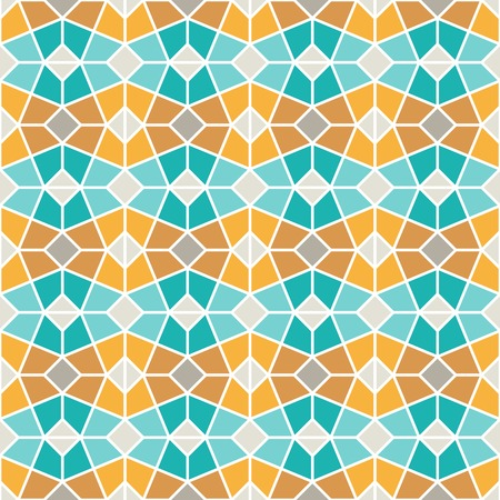 Intricated Geometric lattice pattern. Seamless vector background.
