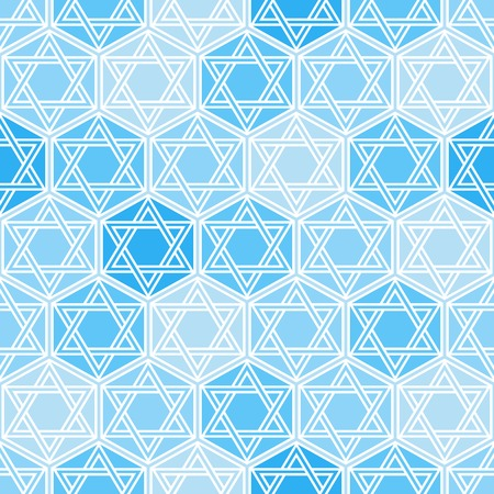Traditional oriental tangled pattern. Seamless vector background. Plain colors - easy to recolor. Vector